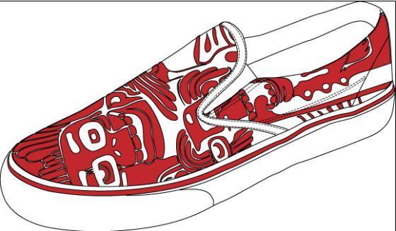 手绘运动鞋2