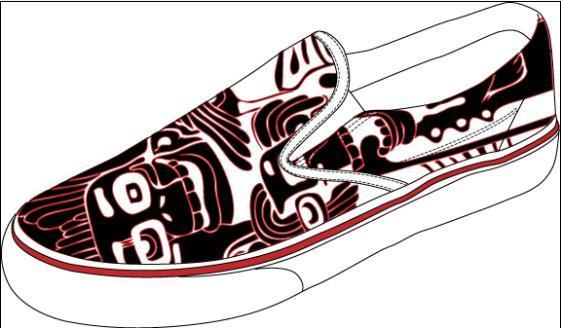 手绘运动鞋1