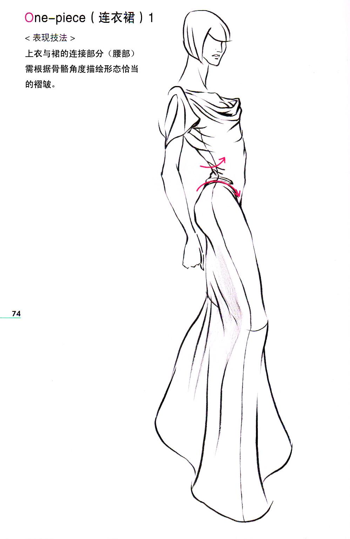 服装画技法教程_时装画技法实用教程---不同着装类型的时装画-设计家园-世界服装 ...