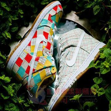 Nike Dunk High Patchwork拼接系列
