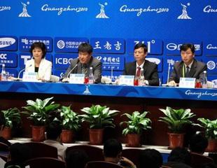 亚运会开闭幕式指挥中心向媒体介绍了开幕式的准备情况