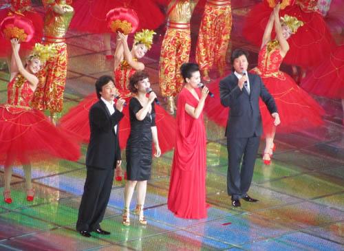 总政歌舞团著名歌唱家谭晶、戴玉强、上海音乐学院歌唱家廖昌永、