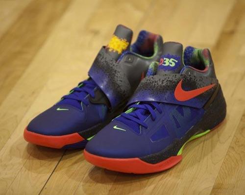 杜兰特的新战靴