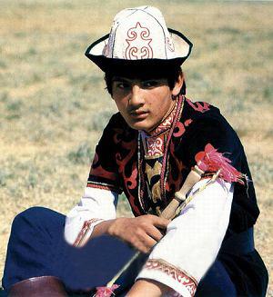 中国少数民族服装之西北地区民族服装