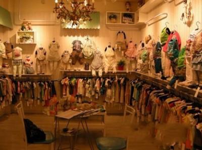 店铺装修模板,童装小店铺装修风格图,淘宝童装店铺装修素材,韩高清图片