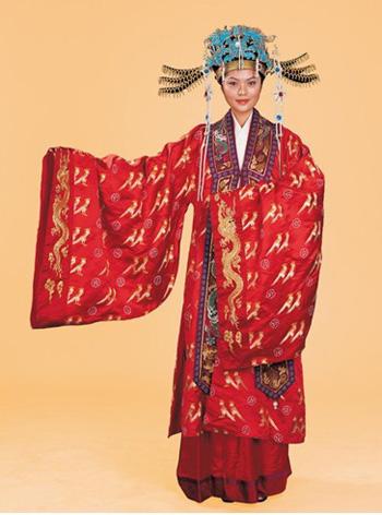 明代皇后服饰-中国古代服饰大赏析图片