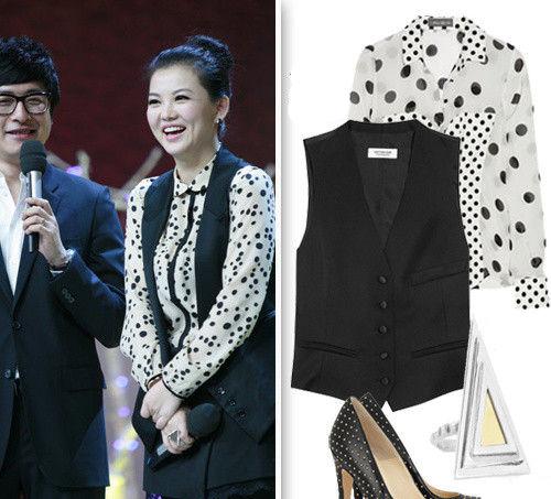快乐大本营 创始人李湘的时尚穿衣经