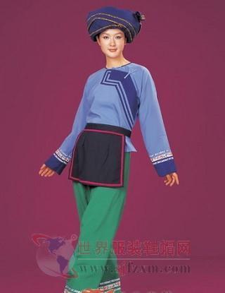 中国民族服饰文化--仡佬族服饰文化-世界服装鞋