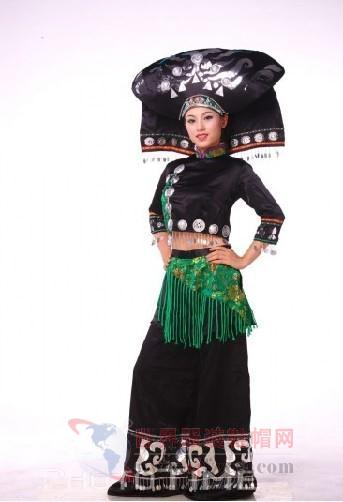 中国民族服饰文化 壮族服饰文化图片