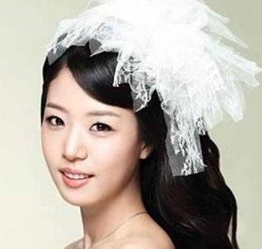 2012韩式新娘妆 浪漫幻影中的纯美境界