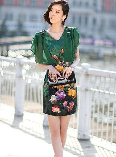 最炫民族风裙装 轻松打造东方女人味