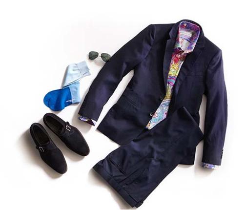 衬衫 西装 领带搭配注意细节