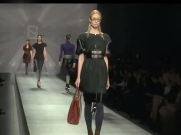 芬迪2012秋冬女装新品发布
