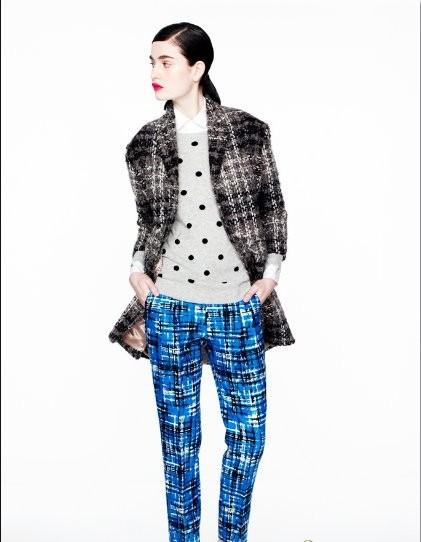 时尚J.Crew2012攻略减龄搭配必杀冬装-世界服旅行者暖暖摄影大赛秘籍图片