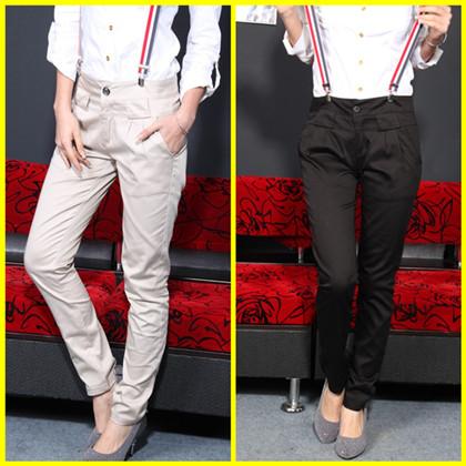 鞋子搭配1:韩版ol女式西装裤