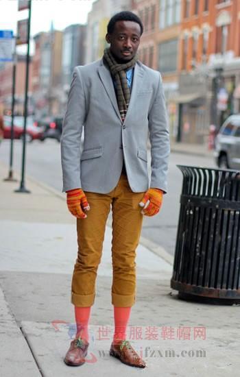 如何做多彩多样的袜子型男?