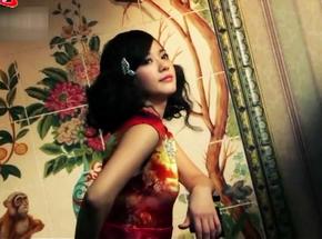大眼美女陈意涵登《VOGUE》 奢华复古裙展现非凡魅力