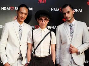 時尚達人齊聚H&M中國首家男裝店