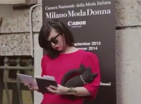 2014米兰时装周潮男潮女时尚街拍