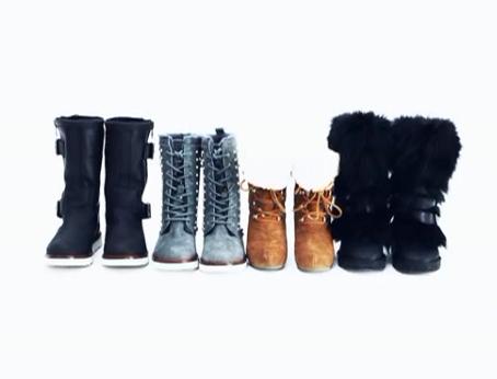 冬日热门雪地靴的穿搭热荐