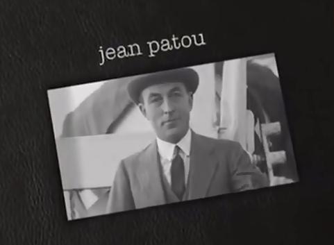 时装设计师:jean patou