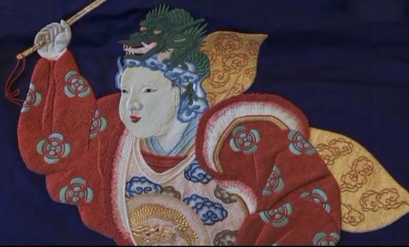欣赏山本耀司的刺绣